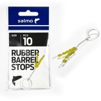 Стопоры резиновые Salmo RUBBER BARREL STOPS р.003L 10шт.