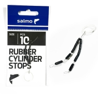 Стопоры резиновые Salmo RUBBER CYLINDER STOPS р.003L 10шт.