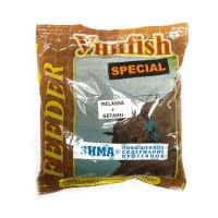 Прикормка зимняя готовая УНИFISH special фидер протеиновая 0,5кг