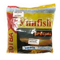 Прикормка зимняя готовая УНИFISH special плотва креветка-мотыль 0,5кг