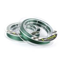 Леска плетеная Yoshi Onyx NITE x4 Dark Green, 0.8#, 0.15мм, 135м